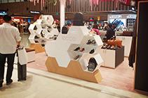Aesthetic Retail Displays Using Staron® by Allplastics