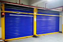 Secure Carpark Roller Shutter Doors from DMF International