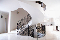 Stunning Traditional Wrought Iron Balustrades from AWIS