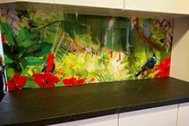 Nature Themed Printed Splashbacks by Innovative Splashbacks