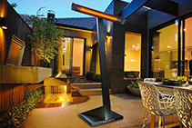 Portable Electric Outdoor Heaters from HEATSTRIP