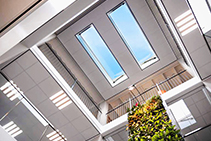 Triple-glazed Glass Roof Hatches from Gorter Hatches