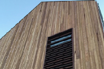 Silvertop Ash Shiplap Cladding from Hazelwood & Hill