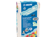 Ultralite S1 No Vertical Slip Cementitious Adhesive from MAPEI