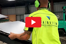 Aluminium Composite Panel Recycling by Fairview Architectural