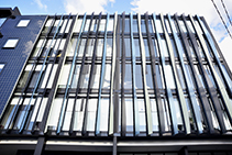 Acrylic Outdoor Architectural Fins from Mitchell Group