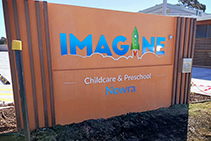 Childcare Centre Signage from Architectural Signs Sydney