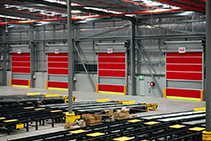 High-speed Door Solutions for the Logistics Industry from DMF