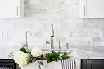 White Marble - Bianco Carrara from RMS Marble