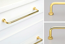 Danish Door and Drawer Handles - Lounge Series by Kethy
