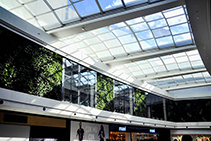 Retractable Glass Skylights from Designer Shade Solutions
