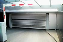 High-speed Spiral Carpark Doors from DMF