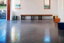 Hydronic Heating of Polished Concrete Flooring by Comfort Heat