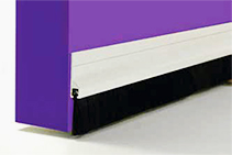 CM2P Brush Strip Plastic Door Seals from Cowdroy