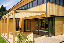 Cyclone Proof Composite Windows - Wood-Alu from Paarhammer