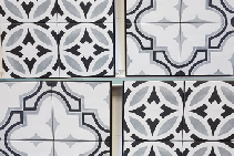 Patterned Tiles for Bathrooms and Kitchens from MDC Mosaics