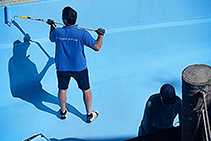 Decorative DIY Pool Paints from Hitchins Technologies