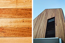 Silvertop Ash Shiplap Cladding Available from Hazelwood & Hill