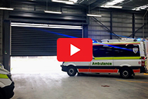 High-speed Exit Doors for Emergency Services from DMF