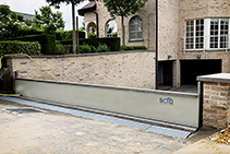 Hyflo Passive Flood Barriers for Driveways from Flooding Solutions