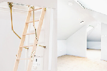 DIY Attic Ladders to Un-lock Your Roof Space from Attic Ladders