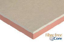 Insulated Dry-Lining Plasterboard for Adhesive Bonding from Kingspan