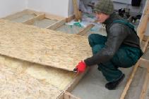Modern Swiss OSB Timber Flooring Board from Simmonds Lumber