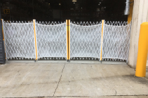 Unique Warehouse Safety Barriers for LVMH from Trellis Door Co
