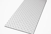 Checker Plate Solid Aluminium Sheets from SAS
