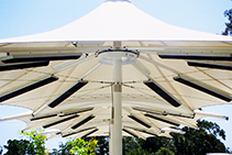 Commercial Umbrellas with Heating from Celmec