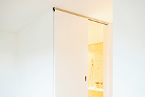 Low Clearance Sliding Door Track System from Cowdroy