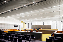 Acoustic Ceiling for ACT Law Courts by Screenwood