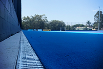 GRP Drainage Channel for Gold Coast Hockey Centre by Hydro