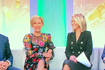Hourglass Textured Panels on the Today Show from 3D Wall Panels