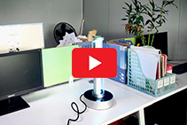 Office Desk UV-C Disinfection Devices by ATA