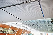 Acoustic Ceiling Design for Wet Areas from Atkar