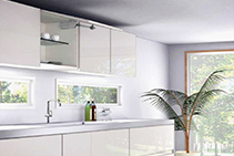 Easy Lift and Stay Cabinetry for Kitchens from Nover