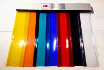 1100 x 2200mm Commercial Curtain Doors from Premier