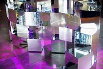 Acrylic Mirror Architectural Display by Allplastics