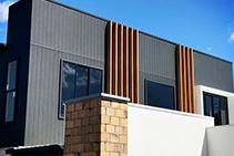 Architectural Facades with Ulltra Batten by Ullrich Aluminium