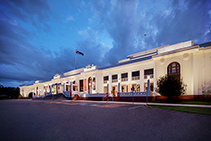 Colour-changing Lighting for Old Parliament House by WE-EF