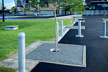 Resin Bonded Permeable Paving for Stadium by WaterPave
