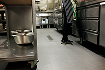 Commercial Kitchen Safety Flooring - Stronghold 30 by Altro