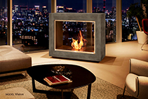 Instant Freestanding Fireplaces from EcoSmart Fire
