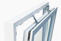 Large Window Opening Hardware for Room Comfort by Paarhammer