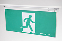 Slimline Exit Signs - Mirage LED Plus Recessed from FAMCO