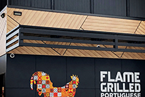 Vibrant Timber-Look Cladding for Oporto Lansvale from DECO