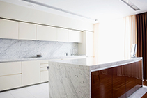 Bianco Carrara White Marble Tiles & Slabs from RMS Marble