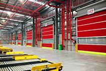 High-speed Doors for Logistics & Warehousing from DMF International