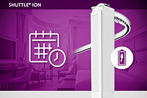 Remote Control Curtains for Homes, Offices, or Hotels by Forest